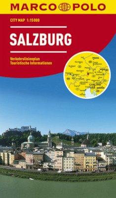 Marco Polo Citymap Salzburg