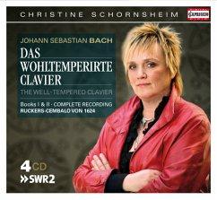 Das Wohltemperierte Klavier Buch I+Ii - Schornsheim,Christine