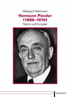 Hermann Pünder (1888-1976) - Wehrmann, Hildegard