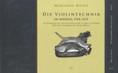 Die Violintechnik im Wandel der Zeit