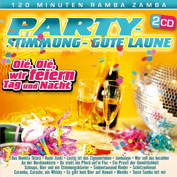 party stimmung gute laune auf audio cd portofrei bei b. Black Bedroom Furniture Sets. Home Design Ideas
