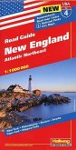 New England Strassenkarte 1:1 Mio., Road Guide Nr. 6
