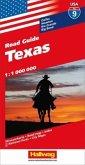 Hallwag USA Road Guide Texas