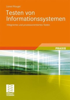 Testen von Informationssystemen - Pilorget, Lionel