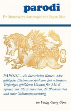 Parodi - ein literarisches Kartenspiel (Kartenspiel)