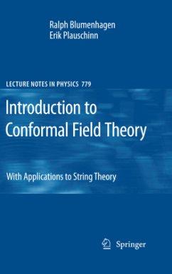 Introduction to Conformal Field Theory - Blumenhagen, Ralph;Plauschinn, Erik