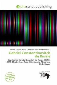 Gabriel Constantinovitch de Russie