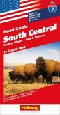 Hallwag USA Road Guide South Central