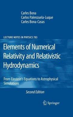 Elements of Numerical Relativity and Relativistic Hydrodynamics - Bona, Carles; Palenzuela-Luque, Carlos; Bona-Casas, Carles
