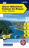 Kümmerly+Frey Outdoorkarte Oberer Mittelrhein, Koblenz bis Bingen