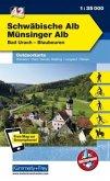 Kümmerly+Frey Outdoorkarte Schwäbische Alb, Münsinger Alb