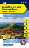Kümmerly+Frey Outdoorkarte Schwäbische Alb, Hohenzollern