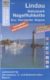 Topographische Karte Bayern Lindau, Naturpark Nagelfluhkette