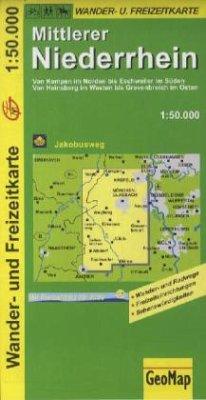 GeoMap Karte Mittlerer Niederrhein