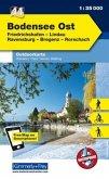 Kümmerly & Frey Outdoorkarte Bodensee Ost