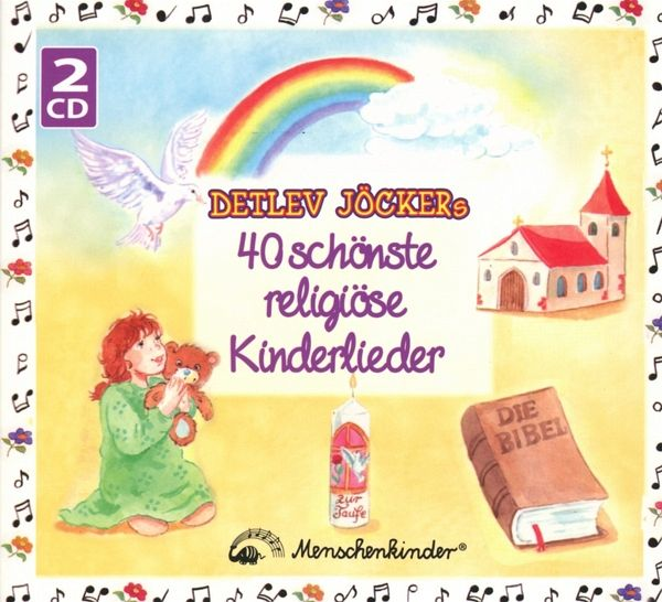 40 sch nste religi se kinderlieder 2 audio cds von detlev. Black Bedroom Furniture Sets. Home Design Ideas