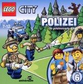 Polizei - Die geheimnisvolle Höhle / LEGO City Bd.6 (1 Audio-CD)