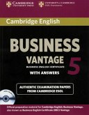 Cambridge BEC. Vantage 5. Student's Book wiith answers and 2 Audio CDs