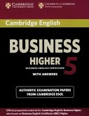 Cambridge BEC Higher 5. Student's Book with answers