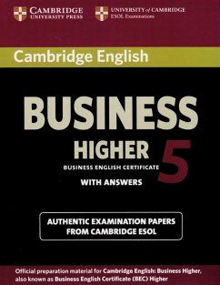 Cambridge BEC Higher 5. Student´s Book with ans...