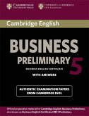 Cambridge BEC. Preliminary Student's Book Pack 5 (Student's Book with answers and Audio CD)