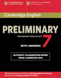 Student's Book with answers / Cambridge Preliminary English Test (PET) 7