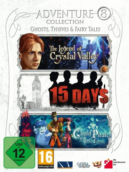 Adventure Collection 8: Ghost, Thieves & Fairy Tales