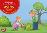 Ostern feiern mit Emma und Paul, Kamishibai Bildkartenset