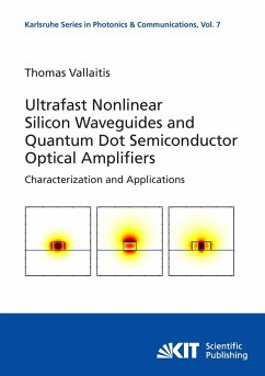 Ultrafast nonlinear silicon waveguides and quantum dot semiconductor optical amplifiers