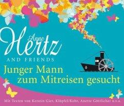 Junger Mann zum Mitreisen gesucht, 5 Audio-CDs - Hertz, Anne; Gier, Kerstin; Klüpfel, Volker; Kobr, Michael