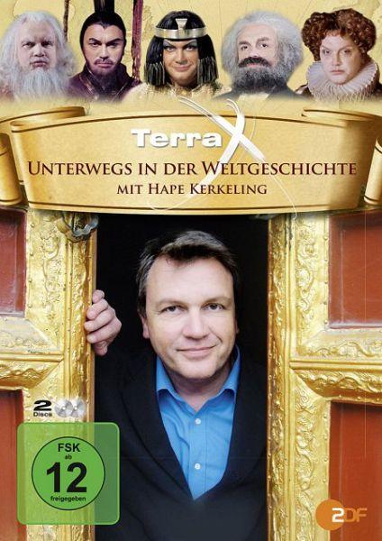Unterwegs in der Weltgeschichte mit Hape Kerkeling, 2 DVDs