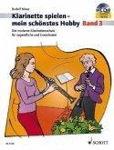 Klarinette spielen mein schönstes Hobby - Band 3 m. Audio-CD