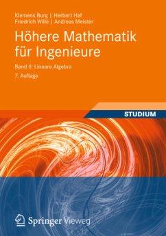 Höhere Mathematik für Ingenieure 2 - Burg, Klemens; Haf, Herbert; Wille, Friedrich; Meister, Andreas