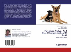 Parentage Analysis And Breed Characterization Of Dogs