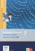 Lambacher Schweizer. 7. Schuljahr. Arbeitsheft plus Lösungsheft und Lernsoftware. Sachsen