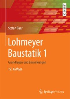 Lohmeyer Baustatik 1 - Baar, Stefan