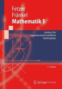 Mathematik 1 - Fetzer, Albert; Fränkel, Heiner