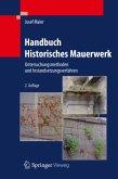 Handbuch Historisches Mauerwerk