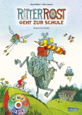 Ritter Rost geht zur Schule / Ritter Rost Bd.8 mit Audio-CD