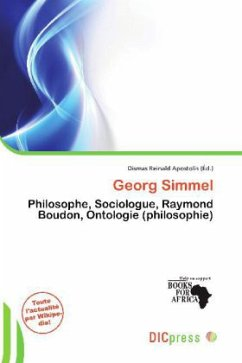 Georg Simmel - Herausgegeben von Apostolis, Dismas Reinald