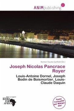 Joseph Nicolas Pancrace Royer - Herausgegeben von Garfield, Norton Fausto