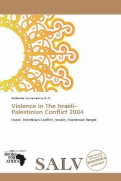 Violence In The Israeli Palestinian Conflict 2004