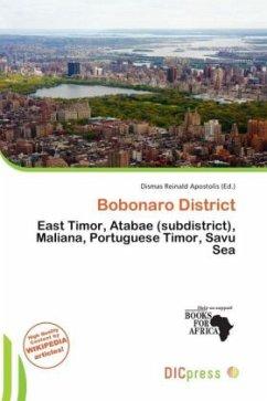 Bobonaro District - Herausgegeben von Apostolis, Dismas Reinald