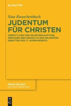 Judentum für Christen - Rauschenbach, Sina
