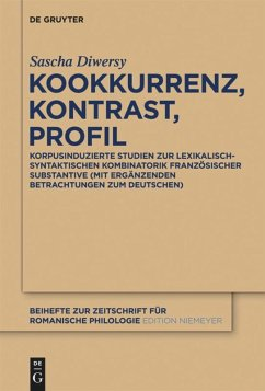 Kookkurrenz, Kontrast, Profil - Diwersy, Sascha