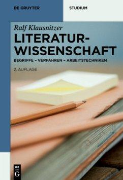 Literaturwissenschaft - Klausnitzer, Ralf
