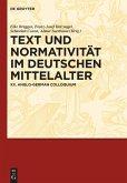 Text und Normativität im deutschen Mittelalter