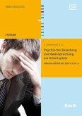 Psychische Belastung und Beanspruchung am Arbeitsplatz