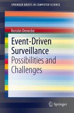 Event-Driven Surveillance - Denecke, Kerstin
