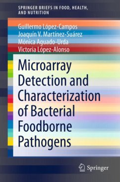 Microarray Detection and Characterization of Bacterial Foodborne Pathogens - López-Campos, Guillermo;Martínez-Suárez, Joaquín V.;Aguado-Urda, Mónica